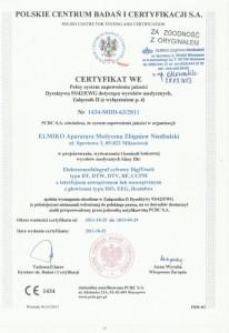 certyfikat sprzetu